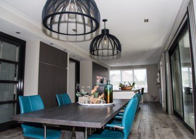 Moderne villa (totaal integratie domotica, audio en beveiliging)